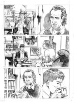 Test pages 2 for the comic Dylan Dog by SimoneDelladio