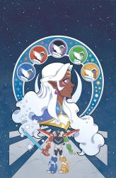 Voltron Legendary Defender Vol 3 Issue 1 Variant by missypena