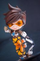 Tracer - Overwatch - Nendoroid #730 by raveka