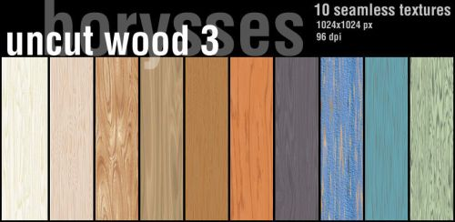 Painted wood by borysses