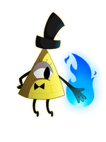 Bill Cipher by thecutefluffykitten