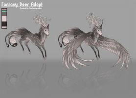 Fantasy Deer Adopt | CLOSED by TheJokingJester