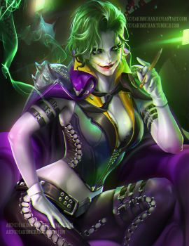Joker by sakimichan