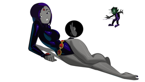 Sultry Raven by morganagod