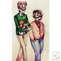 Super Casual Bros by shmu-h