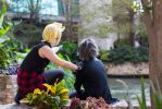 Hey Noct, look over there ! by crescentas