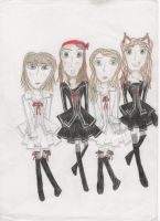 The Dead Amongst the Living by Broken-Ugly-Doll