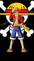 Monkey D. Luffy - Battle Damaged by orco05