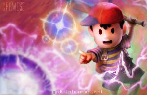 Ness PK THUNDER by GabeRamos