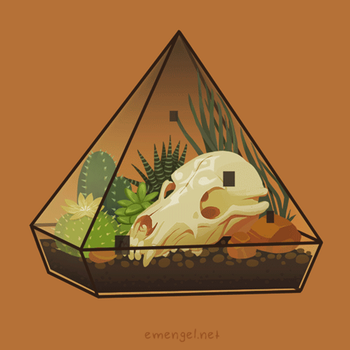 LEGEND OF ZELDA TERRARIUM (3/3) TWILIGHT PRINCESS by emengel