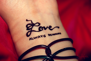 love always remains by FailingPerfection