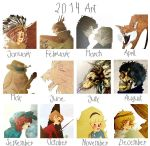 Art summary 2014 by MariChan27