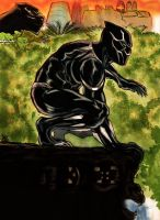Black Panther Color! by nic011