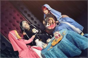 Trinity Blood - Teatime by adelhaid
