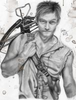 Daryl Dixon by evelinappm