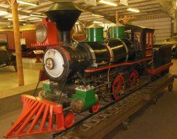 Travel Town Live Steam 4-4-0 No. 25 by rlkitterman