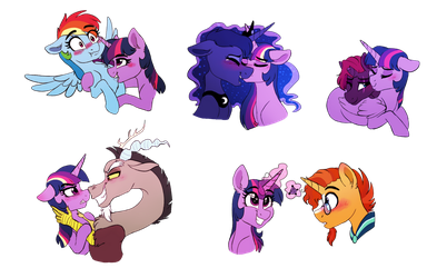 Fav Twilight ships by Saphi-Boo