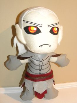 Vyrthur Plushie by LMColver