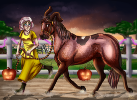 |YKR|Courage the Cowardly....colt?|Spooktacular by ever-so-jAntly