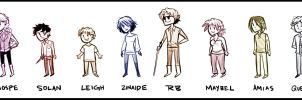 Tiny Insaneography Lineup by Inonibird