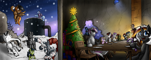 A Fallout Equestria Christmas! (Collab) by TheOmegaRidley