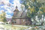 Wooden church in Rychnow by GreeGW