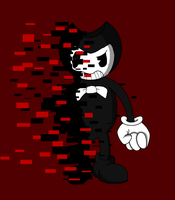 Glitched Bendy by RichardtheDarkBoy29