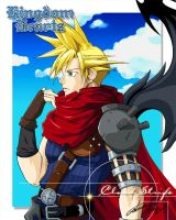 Cloud Strife by jiyusuzaku