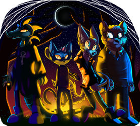 Night In The Woods by PlagueDogs123
