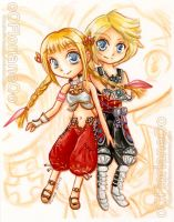 Penelo and Vaan by oOFlorianeOo