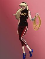Young Justice Wonder Girl Colors by PhoenixRoy