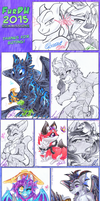 FurDU 2015 Table Coms compile! by carnival