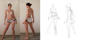 Character Design: Gesture Drawing by tarri14