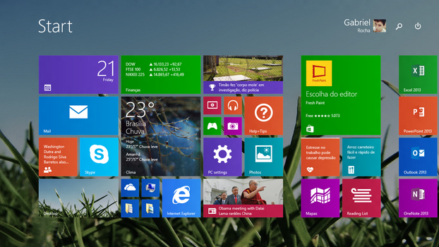 Start Screen of the Day - 210214 by Gabrielx86