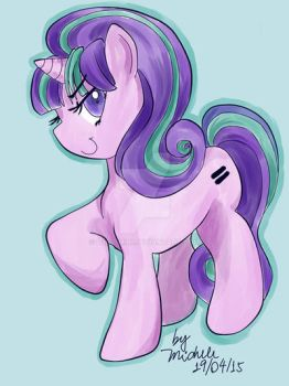 pony starlight Glimmer colors by itigo-miki