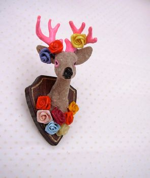 Buck Yourself Brooch - Lolita by KitschyGalore