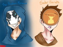 Solar Sands And The Fandom Menance (Speedpaint) by Myumimon