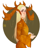 THE HOBBIT: Thrandy, glorious elven prince by RinGreen