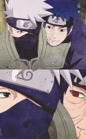 Obito and Kakashi by LauraFeatChaz