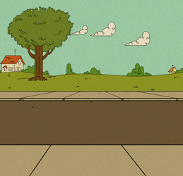 Loud House Background 01 by Christopia1984