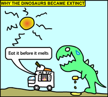 Dinosaur Comic by JaffaCakeLover