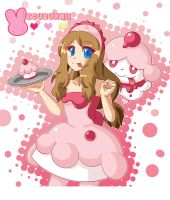 :Pokemon: Serena and Slurpuff