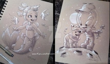 Christmas Gifts by KelleeArt
