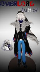 [MMD] Creepypasta OC - Overlord Author .::DL::. by Laxianne