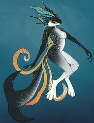 Auction: WHALE SHARK OCTOPUS KITTY CAT by Reisen
