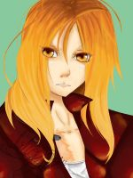 Edward Elric by altrachibi