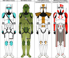 Clone Scout Units by MarcusStarkiller