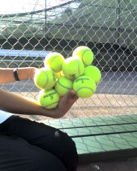 10 Tennis Balls by omjeee