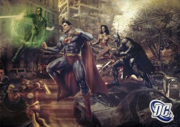 Justice League by tomzj1