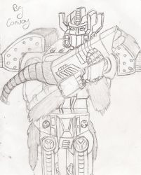 League of the Convoys: Big Convoy by UnicronHound